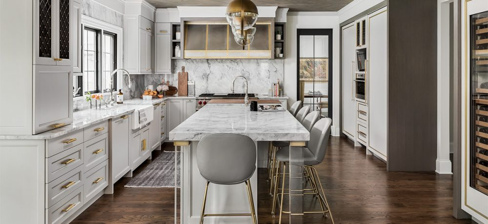 Dazzler of a do-over. Hinsdale kitchen remodel makes neighbor kitchens jealous.