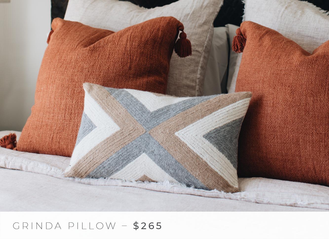 Shop The Look: Group Effort/The Bedroom - Grinda Pillow