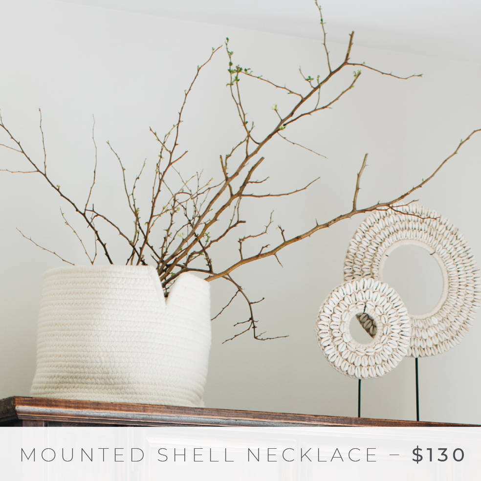 Shop The Look: Group Effort/The Bedroom - Mounted Shell Necklace