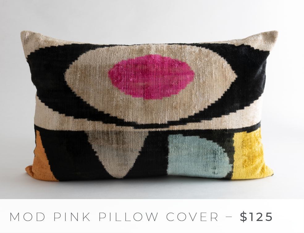 Shop The Look: Group Effort/The Lounge - Mod Pink Pillow Cover