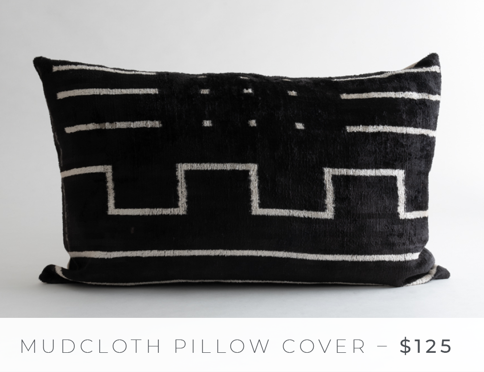 Shop The Look: Group Effort/The Lounge - Mudcloth Pillow Cover