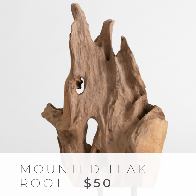 Shop The Look: Group Effort/The Office - Mounted Teak Root
