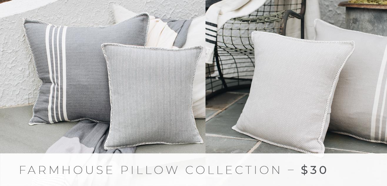 Shop The Look: Group Effort/The Porch - Farmhouse Pillows